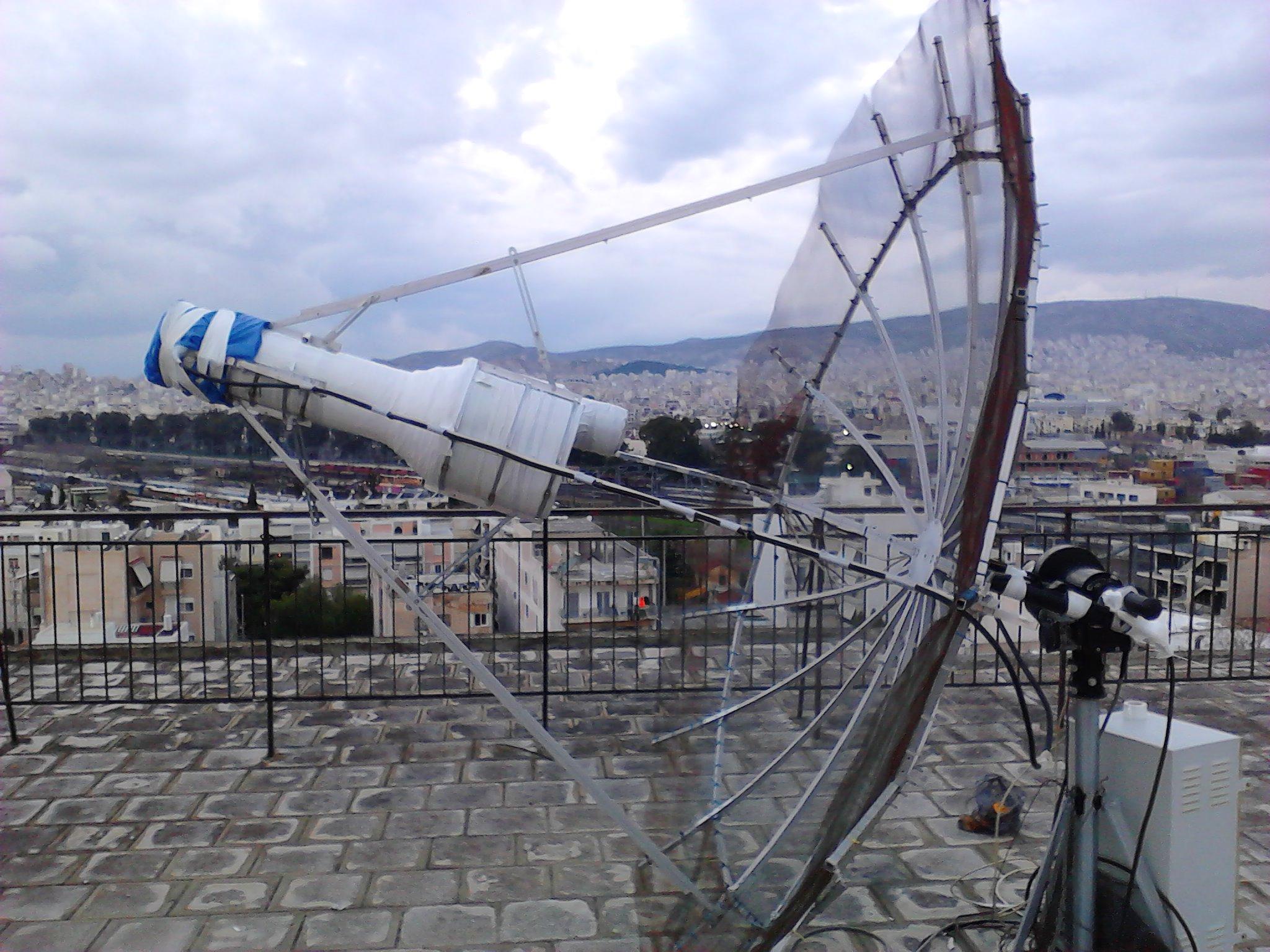23cm EME setup   Michael Margaras SV1CAL - Amateur Radio and Electronics